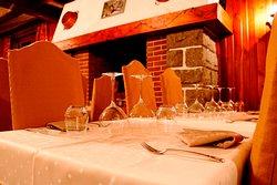 Salle de restaurant de l'Alpazur