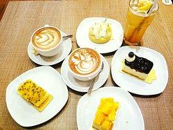 Variety of cute cake