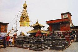 Swayambhunath-Tempelkomplex