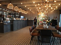 La Colombe Niemeyer Restaurant