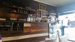Chalkboard cafe