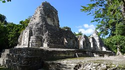 Chicaná Mayan Ruins
