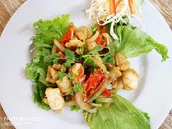 fried sea food