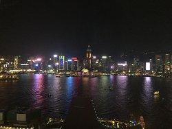 Breathtaking view of Hong Kong