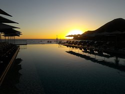 Sea or Cortez at Sunrise from roof top pool