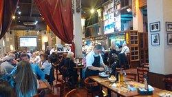 Vista del interior del bar
