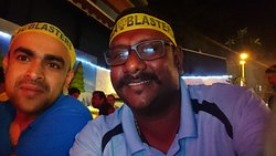 ISL final with bbq live