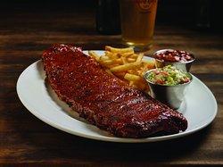 Hard Rock Cafe Chiang Mai - Hickory Smoked Ribs