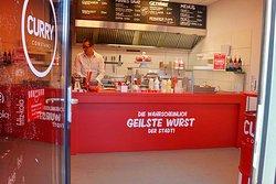 Klein aber fein und saugute Currywurst