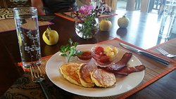 Scrumptious farm grown and hand made breakfast!