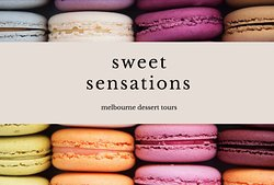 Sweet Sensations Dessert Tours