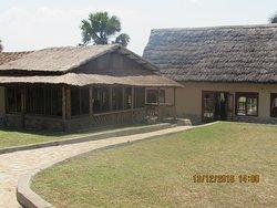 Sumptuous Meals and nice scenery of River Nile while at Pakuba Safari Lodge