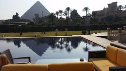 What an amazing view of the pyramids!!