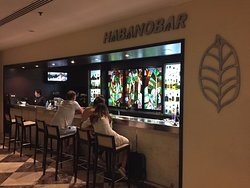 The Habanobar (new building) has drinks and INTERNET