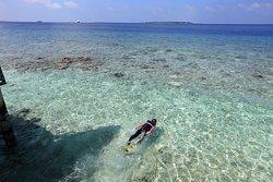 Wonderful Island for our honeymoon