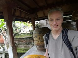Avid Balinese Antique collectors. Many decorate the gardens and buildings