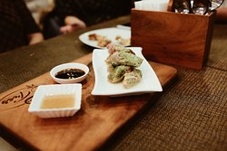 Wanna have a taste of China? They serve empress roll too