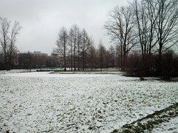 Вид парка имени 9 января летом и зимой преарасен (не сезон)