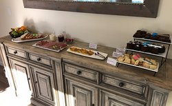 Breakfast Area, with Homemade Goodies!