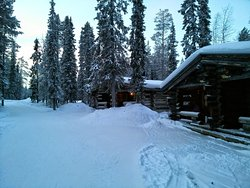 Akashotel(Snow Elf) log cabins