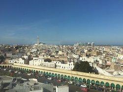 Room 906 View if Medina and mosque  Beautiful mahogany paneling