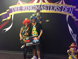 Ringmaster game with the wife