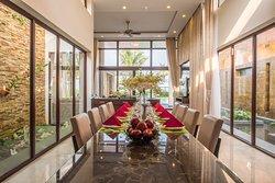 Villas - Dining room