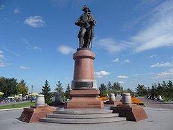 Monument to Nikolay Petrovich Rezanov