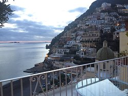 Spectacular view from our hotel room at Hotel Ancora. December 2016.