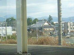 近江今津駅ホームから