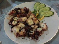 Oktopus vom Grill