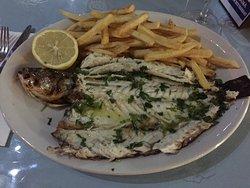 Seabass vom Grill