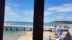 Beach establishment