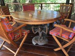 Great property with beautiful surroundings for safari