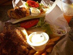 Blackened Grouper Sandwiches