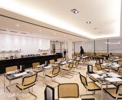 Breakfast Room at the Design Hotel Josef Prague