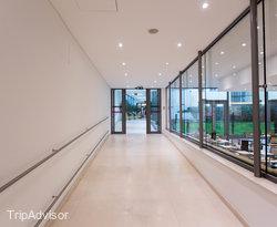 Hallways at the Design Hotel Josef Prague