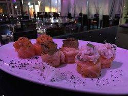 Gunkan, restaurante de eleição. Flavour sushi