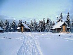 Fantástico y espectacular. Será el mejor hotel de Laponia