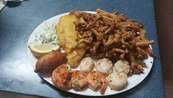 New seafood platter!  Best consumer choice.