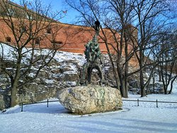 Monument of the Wawel Dragon
