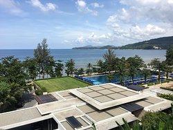 Amazing pool and view of Hyatt Regency Phuket