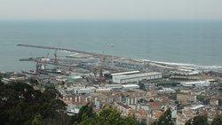 Magnífica vista para a cidade de Viana do Castelo