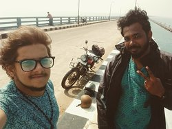 Kunthu kal Beach, Rameswaram