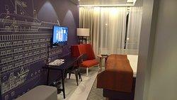 Standard double room at Hotel Indigo Helsinki