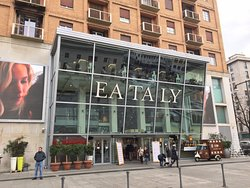 Alice, on top of Eataly (see top right of this photo)