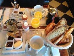 Two full breakfasts!