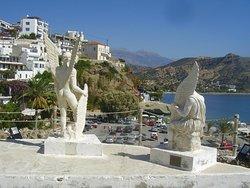 Icaros & Daedalus Statues