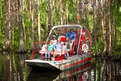 Spirit of the Swamp Airboat Rides
