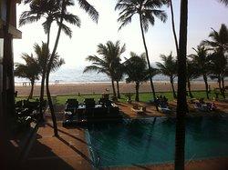 hôtel en bord de plage
